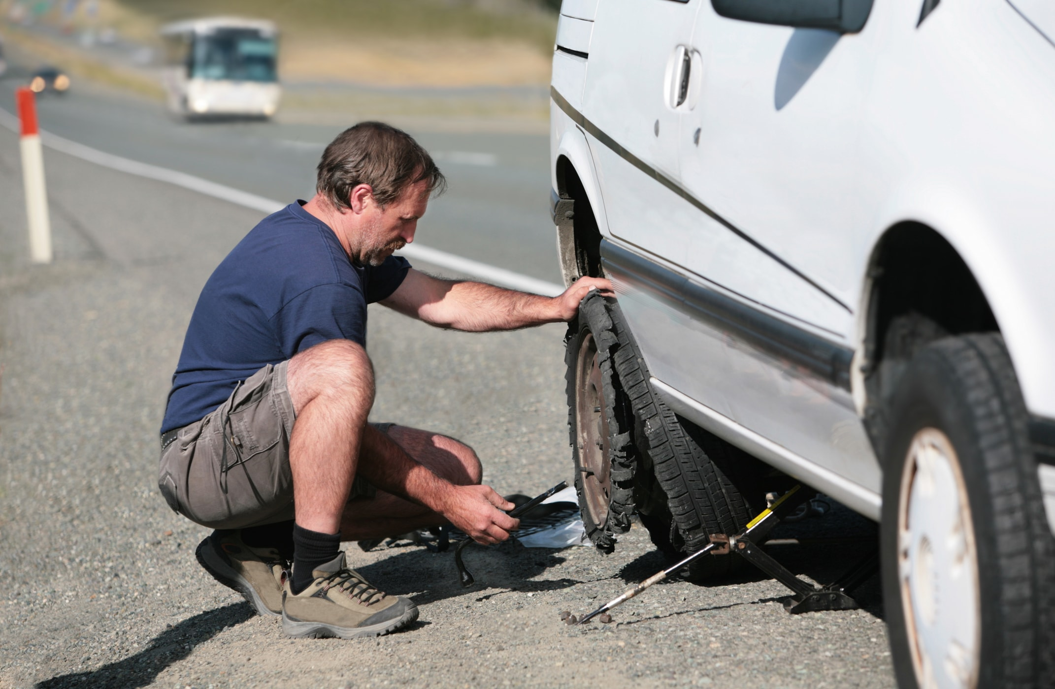 What to Do When You Have a Tire Blowout While Driving